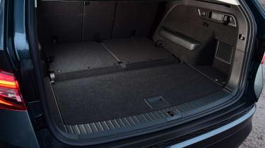 Skoda Kodiaq - boot rearmost seats down
