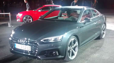 Audi A5 - official reveal front