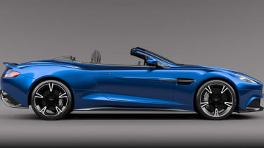 Aston Martin Vanquish Volante side