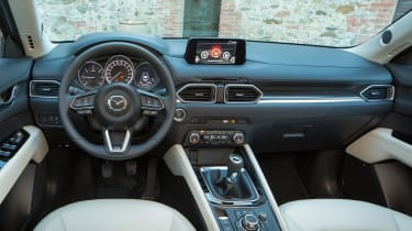 Mazda CX-5 2017 - manual Tuscany interior