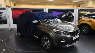 Peugeot 3008 design centre