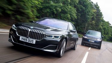 BMW 7 Series vs Range Rover - header