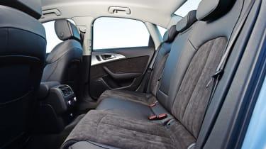 Audi A6 - rear seats