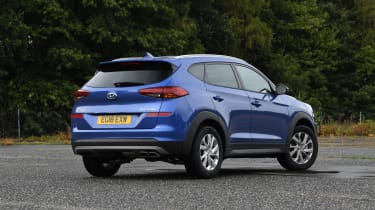 Hyundai Tucson - rear static