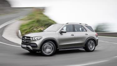 Mercedes GLE side