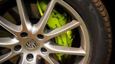 Porsche Cayenne E-Hybrid prototype - brake disk
