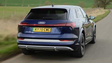 Audi e-tron S - rear