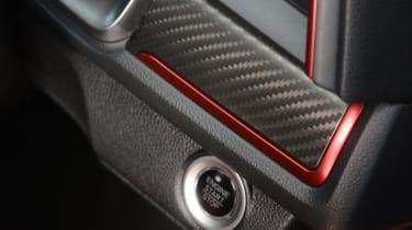 Honda Civic Type R - start/stop button