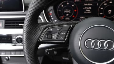 Audi A5 Cabriolet - steering wheel detail