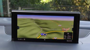 Audi SQ7 Vorsprung - sat-nav