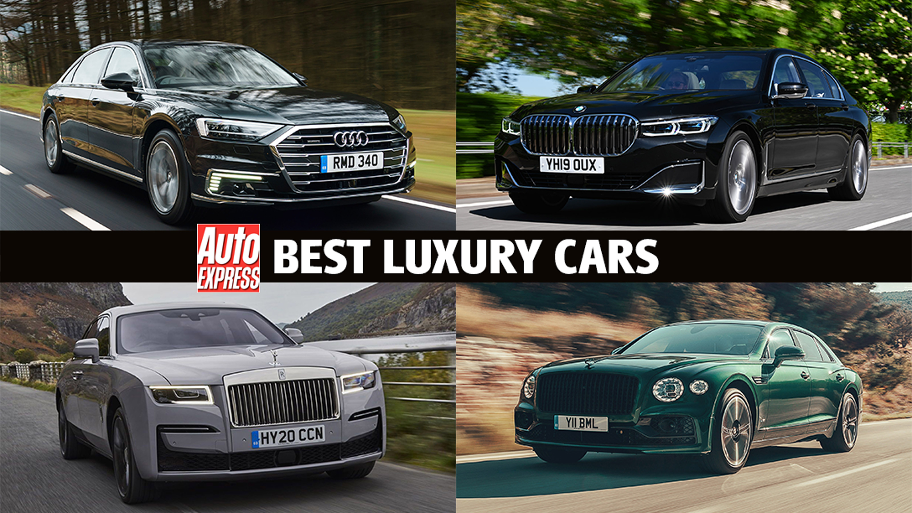 Best Luxury Cars 2021 Auto Express