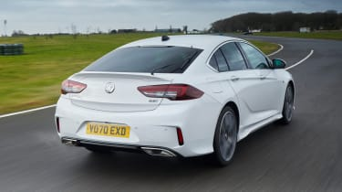 Vauxhall Insignia GSi - rear tracking