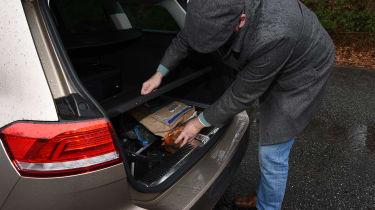 Volkswagen Passat Estate long-term final report - boot