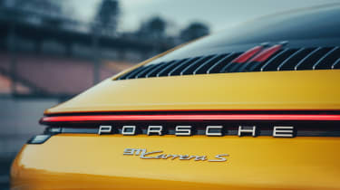 Porsche 911 - rear detail