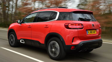 Citroen C5 Aircross tracking rear
