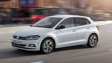 New Volkswagen Polo Beats - front action