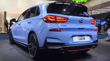 New Hyundai i30 N - rear