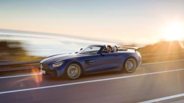 Mercedes-AMG GT R Roadster - front sunset
