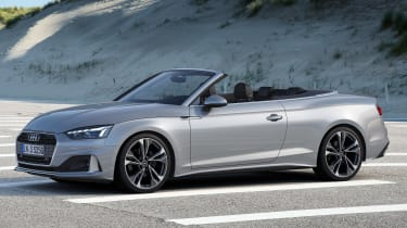 2019 Audi A5 Cabriolet - front 3/4 static