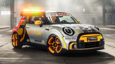 MINI Electric Pacesetter - side/front