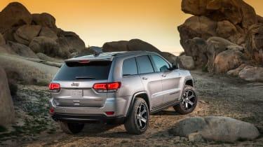 Jeep Grand Cherokee Trailhawk - rear quarter