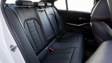 BMW 320d - rear seats