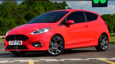 Ford Fiesta ST-Line front static