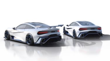 Naran Automotive Celare Pack - rear