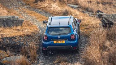 Dacia Duster 2021 facelift - rear
