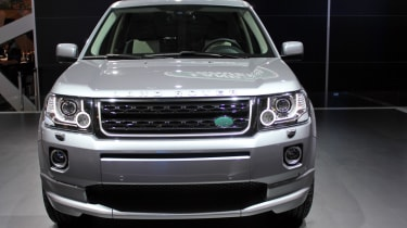 2013 Land Rover Freelander front