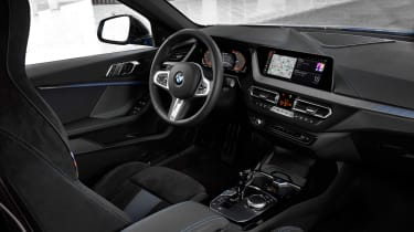 New BMW M135i 2019 1 Series interior