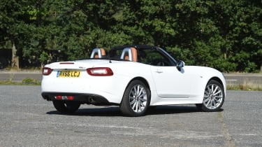 Fiat 124 Spider Rear Still