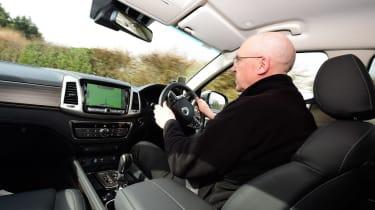 SsangYong Rexton long term - first report Kim Adams driving