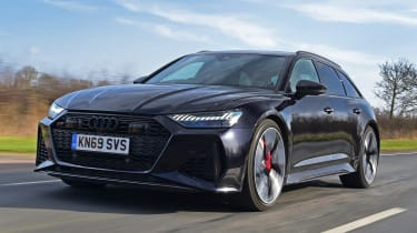 Audi RS 6 - front