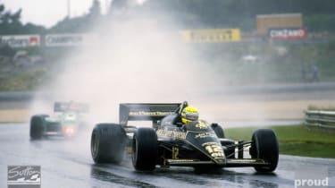 Aryton Senna first Grand Prix victory