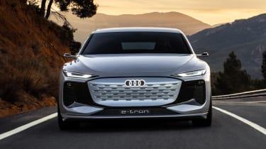 Audi A6 e-tron concept - full front