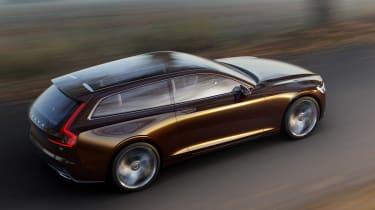 Volvo Concept Estate top