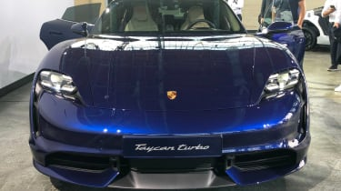 Porsche Taycan - reveal full front