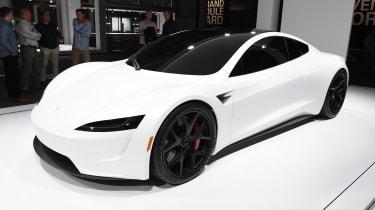 Tesla Roadster - front