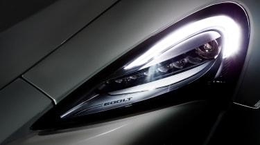McLaren 600LT - headlight