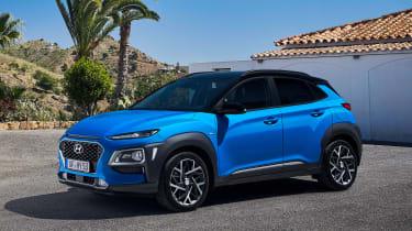 Hyundai Kona hybrid - front static