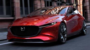 Mazda Kai concept - front action