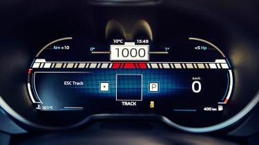 Alpine A110 - dials