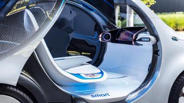 Smart Vision EQ ForFour concept - seat