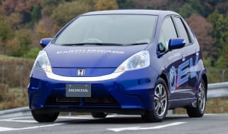 Honda Jazz EV front tracking