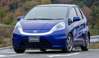 Honda Jazz EV front tracking
