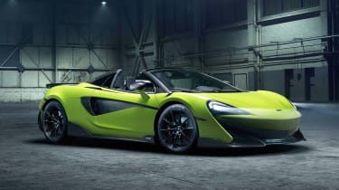 McLaren 600LT Spider - front