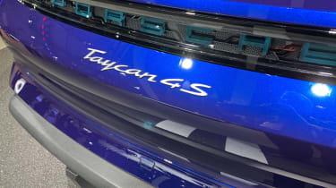 Porsche Taycan 4S - Los Angeles badge
