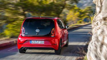 Volkswagen up! GTI - rear tracking