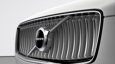 Volvo XC90 facelift - grille